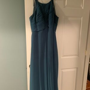 Azazie Ink Blue bridesmaid dress
